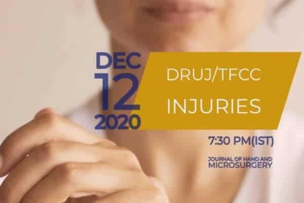 Webinars 2020 – Chirurgie de la main & du poignet