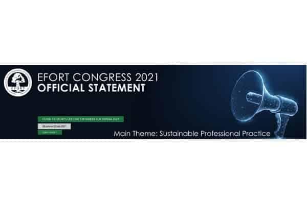 efort congress 2021 vienne docteur patrick houvet chirurgien membre superieur