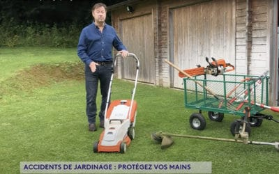 Accident de jardinage – Télématin (07/2021)